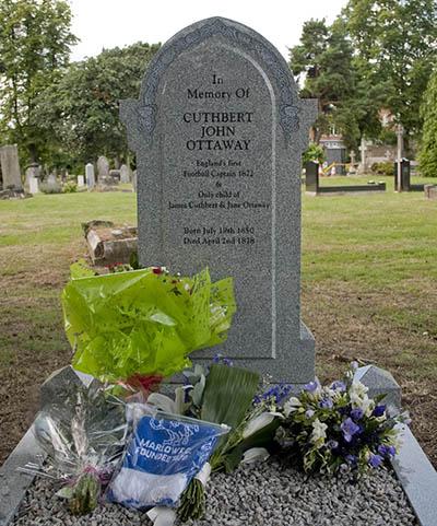 grave of cuthbert ottoway