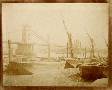 henry fox talbot, hungerford bridge