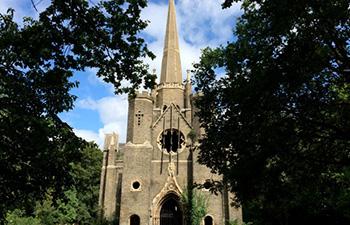 abney park cemetery chapel