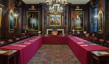 courtroom, vintners' hall