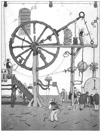 w heath robinson
