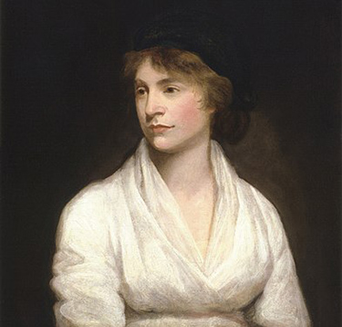Mary Wollstonecraft by John Opie NPG