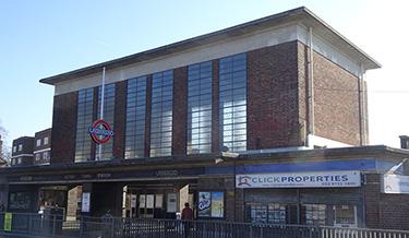 Acton Town Tube Station